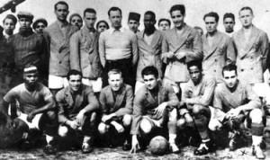 La nazionale marocchina el 1940 (da http://mangin2marrakech.canalblog.com)