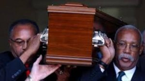 Il funerale di Peter Norman