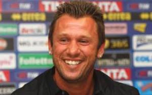 Il sorriso di Antonio Cassano