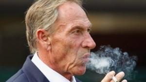 Zeman con l'immancabile sigaretta