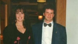 Giuliano con la moglie Raffaella