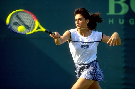 Gabriela Sabatini in azione